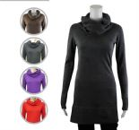 Wholesale Womens Ex Chainstore Chunky Roll Neck Fine Knit Long Jumper